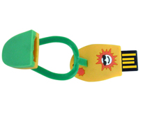 pvc USB flash drive H509