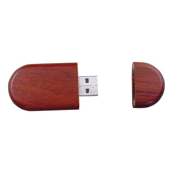 Red wood USB flash disk H906